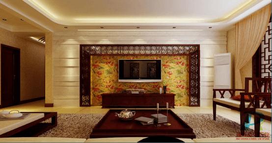 大理石电视背景墙效果图|大理石电视背景墙风格|武汉