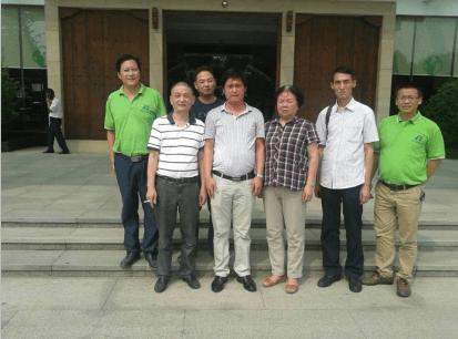 省石材协会周豫鄂副会长、刘筱文秘书长来我公司参观指导