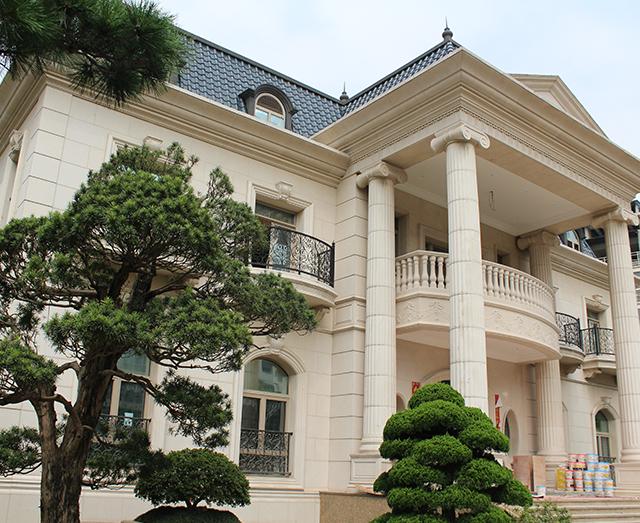 武汉顶级别墅大理石装修实例