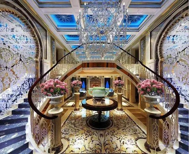 1个亿的别墅,花了2000万石材装修,到底有多美多震撼?