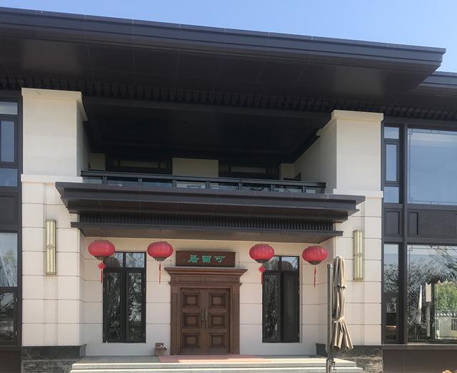 黄陂新中式别墅
