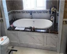爵士白浴室墙面造型【环保美观】