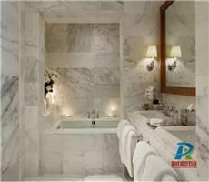 大理石洗手间【白色系多图】