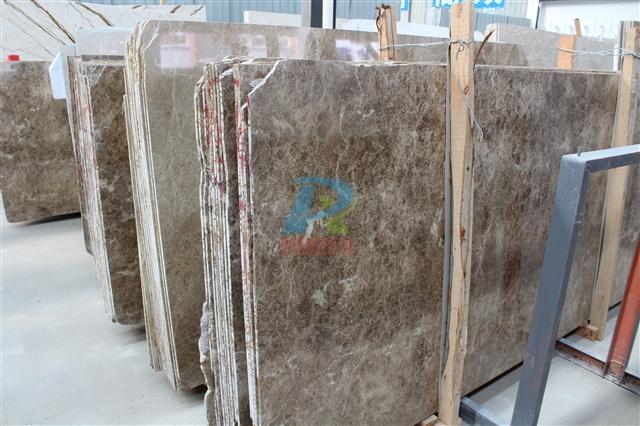 水晶浅啡天然大理石
