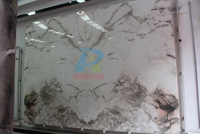 大理石山水画2