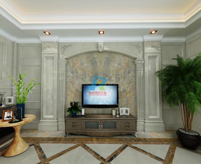 客厅电视背景墙35