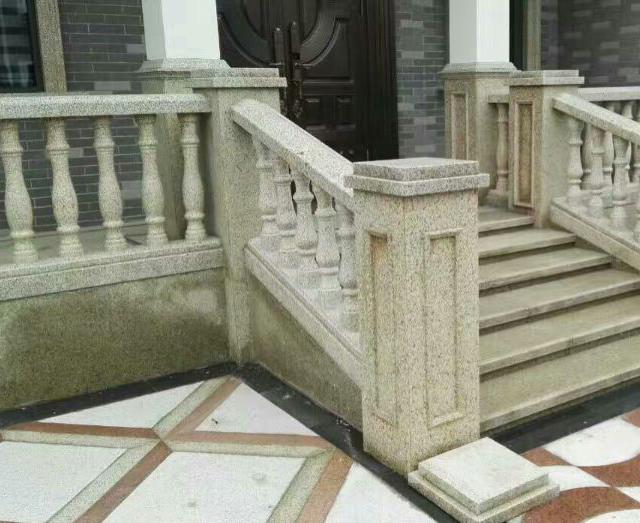 别墅石材栏杆2