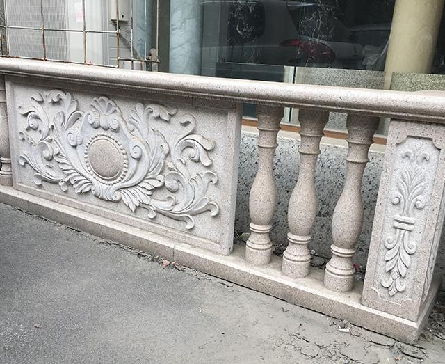 别墅花岗岩栏杆