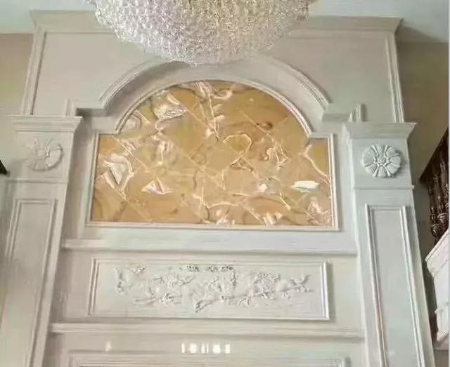 25款别墅复式玉石背景墙