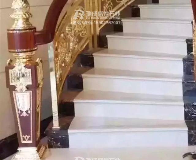 30款别墅石材楼梯