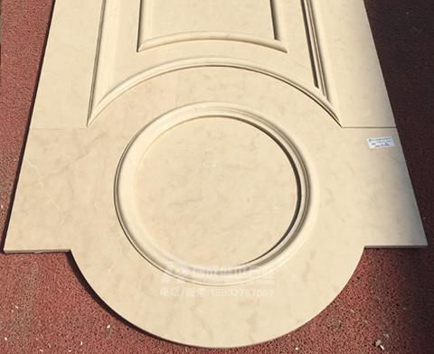 大理石异形线条工艺