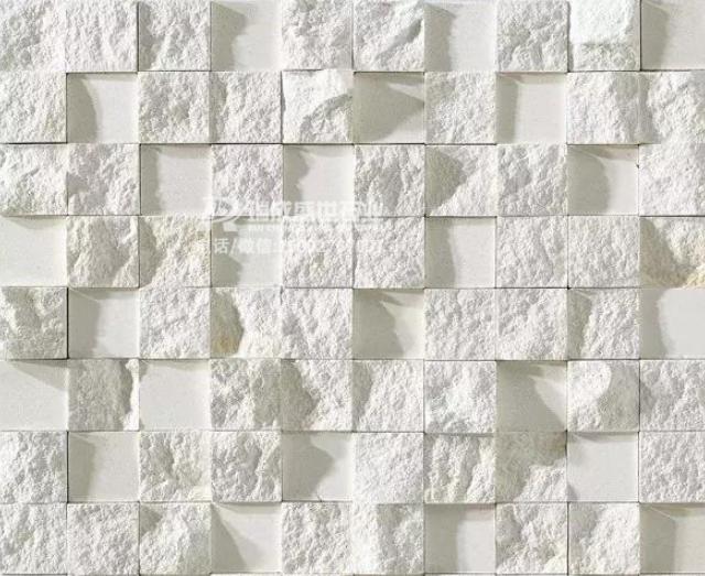 11款浅白色马赛克墙面