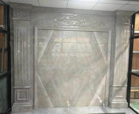 菲拉格慕大理石背景墙|护墙板