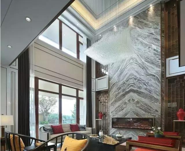 中国风石材别墅95图