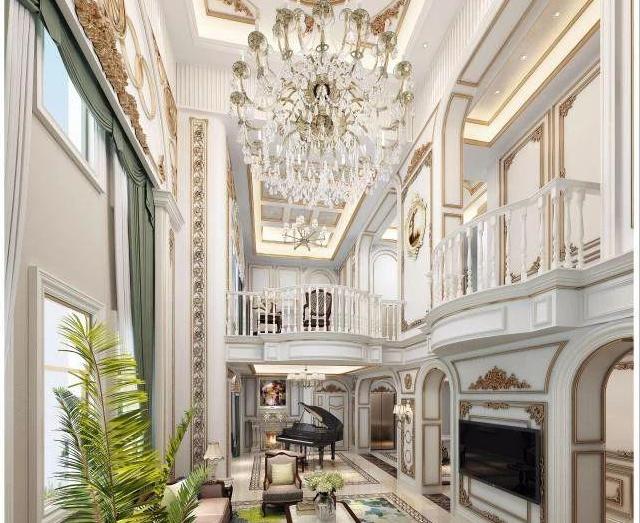 1000m2法式别墅设计