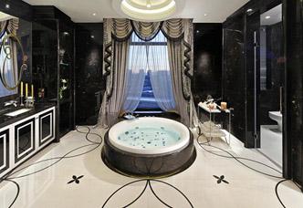 洗手间大理石