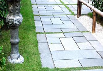 院子铺地石-青石板